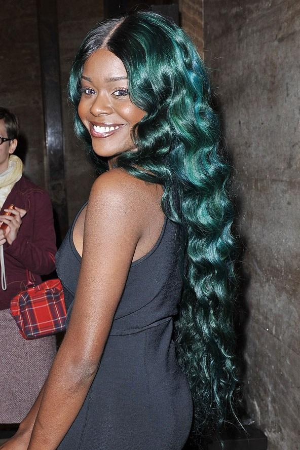 Цветные волосы знаменитостей: фото 1