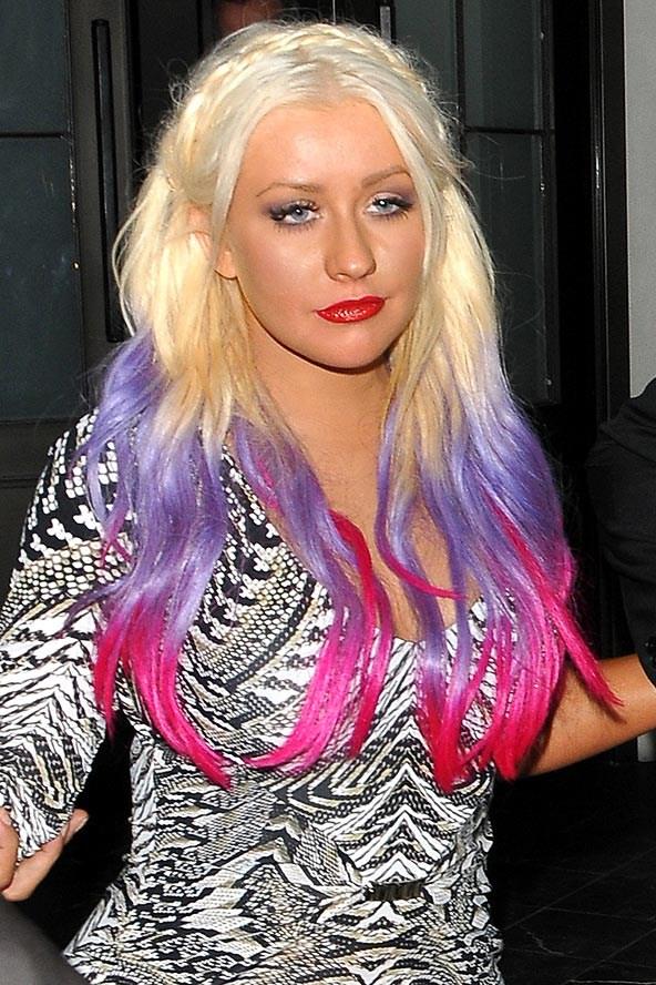 Цветные волосы знаменитостей: фото 4