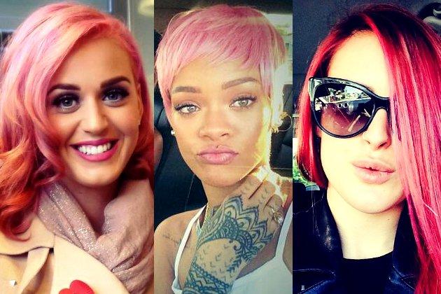 Цветные волосы знаменитостей: фото 10