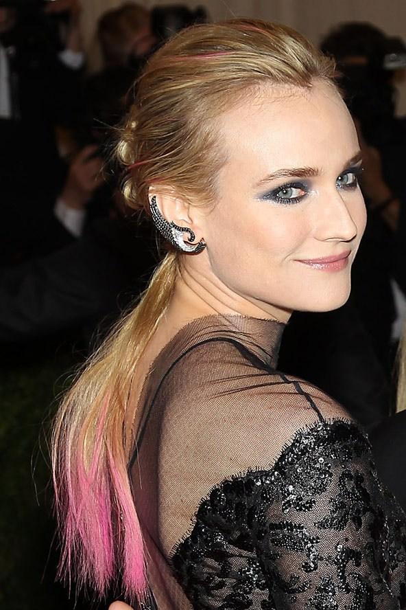 Цветные волосы знаменитостей: фото 13