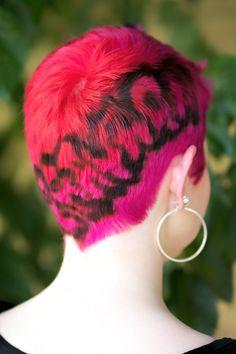 рисунки на волосах: фото 19