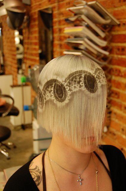 рисунки на волосах: фото 21