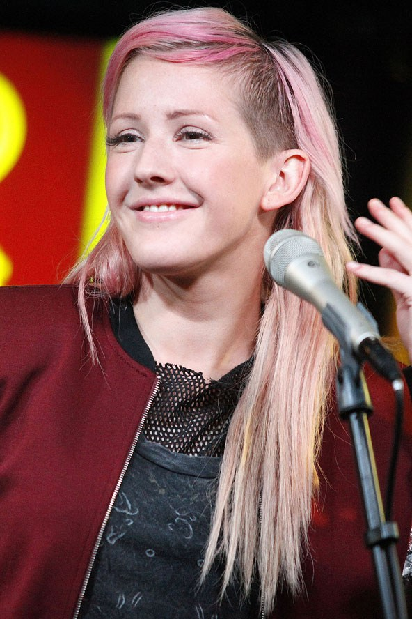 Цветные волосы знаменитостей: фото 14