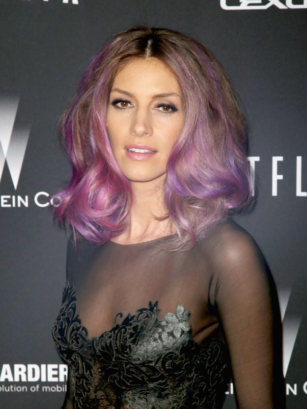 Цветные волосы знаменитостей: фото 17