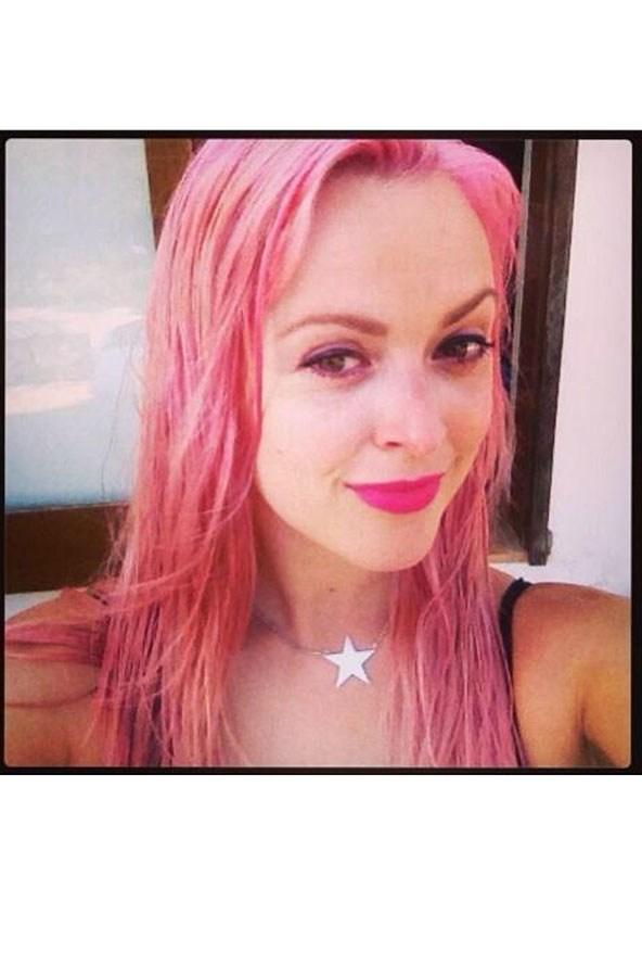 Цветные волосы знаменитостей: фото 31