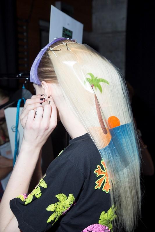 рисунки на волосах: фото 22