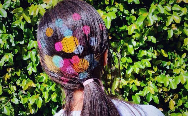 рисунки на волосах: фото 27