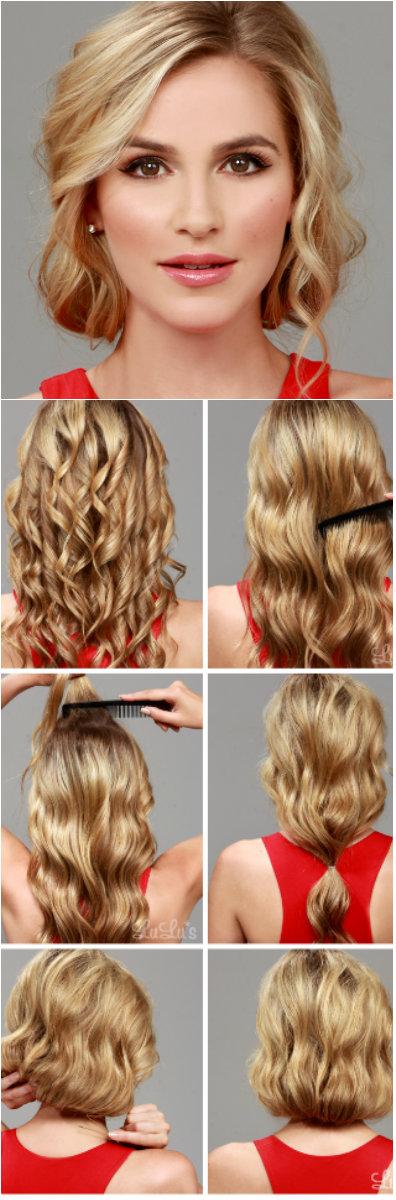 из длинных волос короткие фото 4