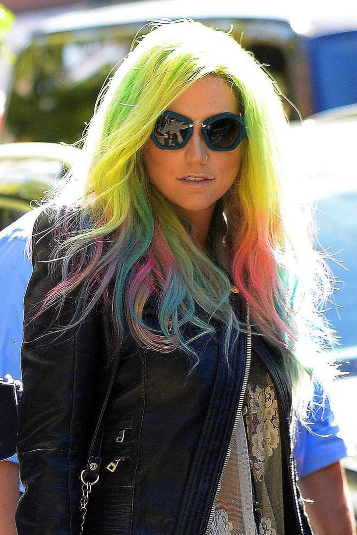 Цветные волосы знаменитостей: фото 38
