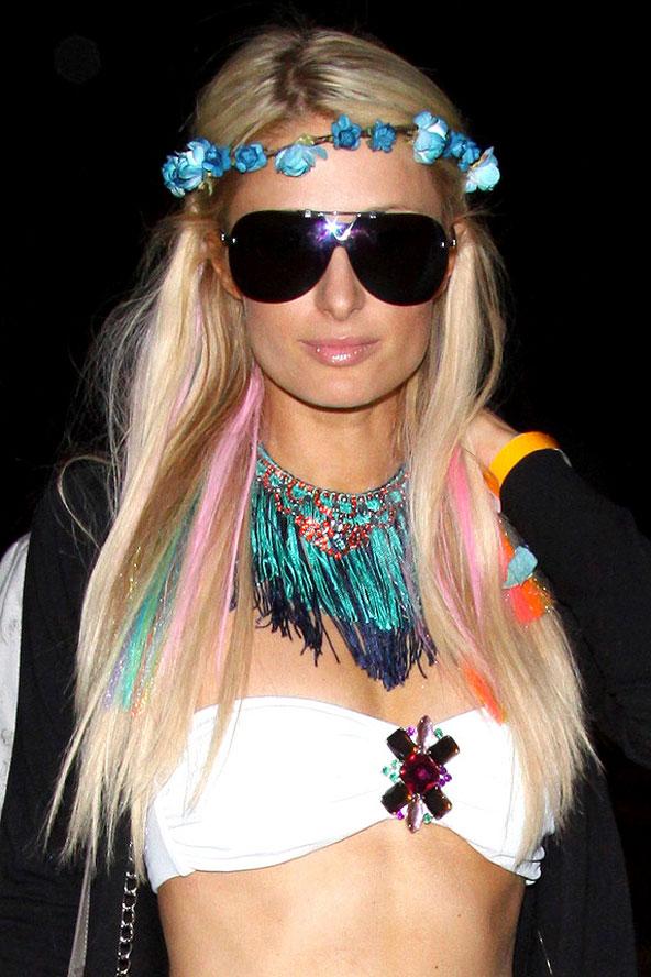 Цветные волосы знаменитостей: фото 47