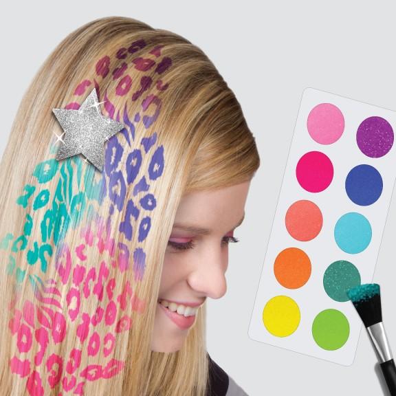 рисунки на волосах: фото 39
