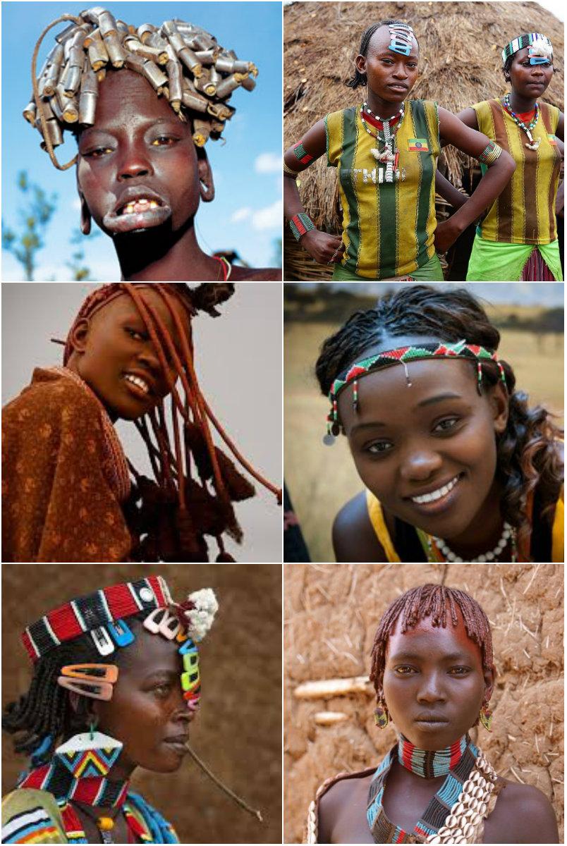 Традиционные прически Африки