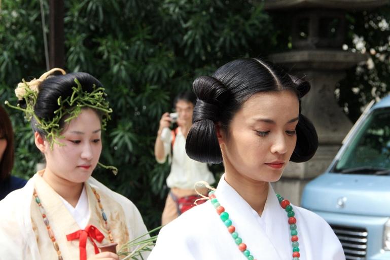 Традиционные прически Японии фото 4
