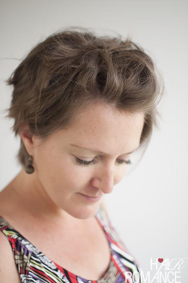 Укладка коротких волос фото 2