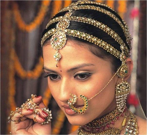 традиционные прически Индии