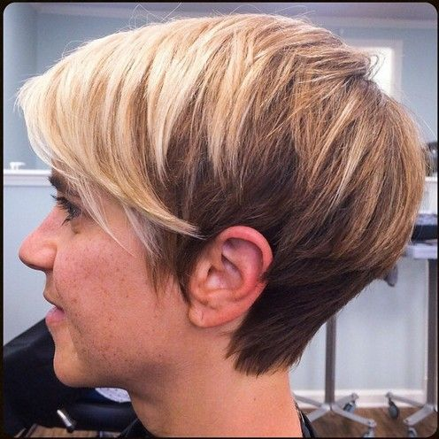 омбре на короткие волосы: фото 5