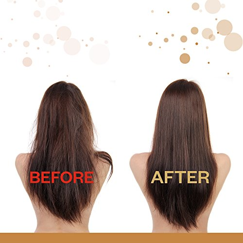 Эффект от сыворотки для волос