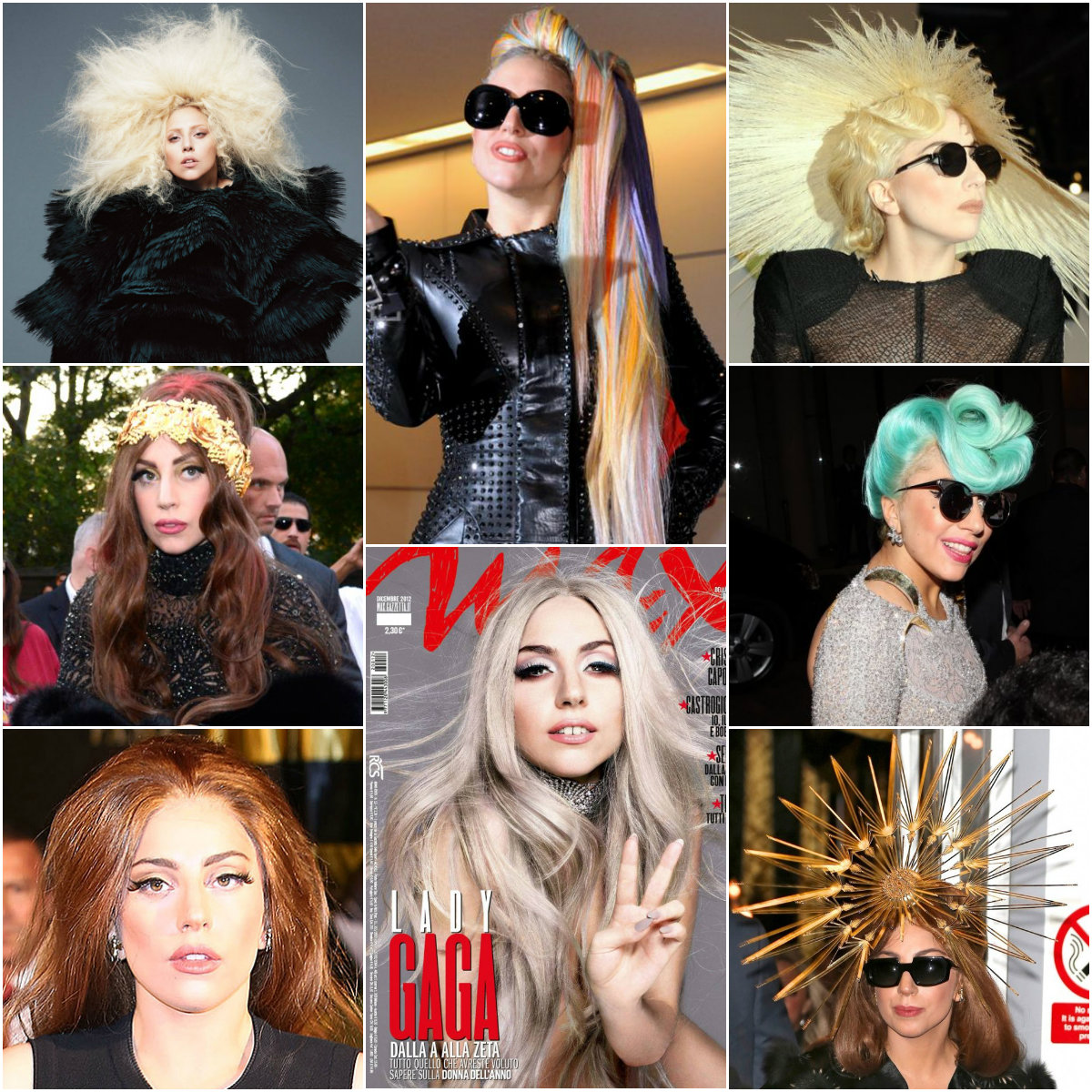 Леди Гага 2012