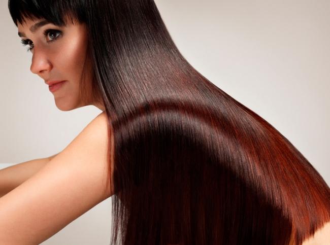блестящие волосы фото 2