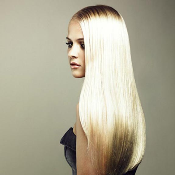 блестящие волосы фото 3