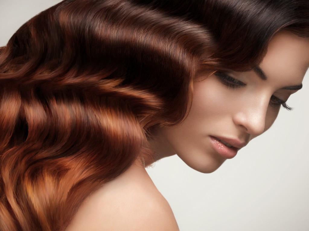 блестящие волосы фото 4
