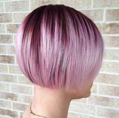омбре на коротких волосах фото 9