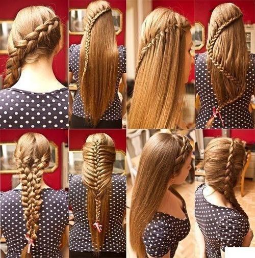 Красивые причёски на каждый день из косичек