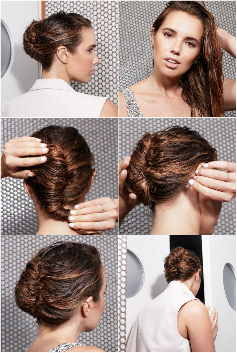 ракушка на мокрые волосы