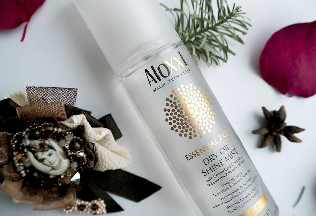 спрей-блеск Aloxxi  DRY OIL SHINE MIST