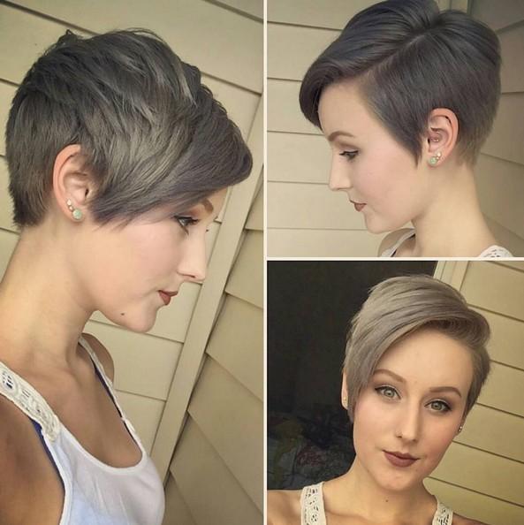 окрашивание коротких волос: фото 13