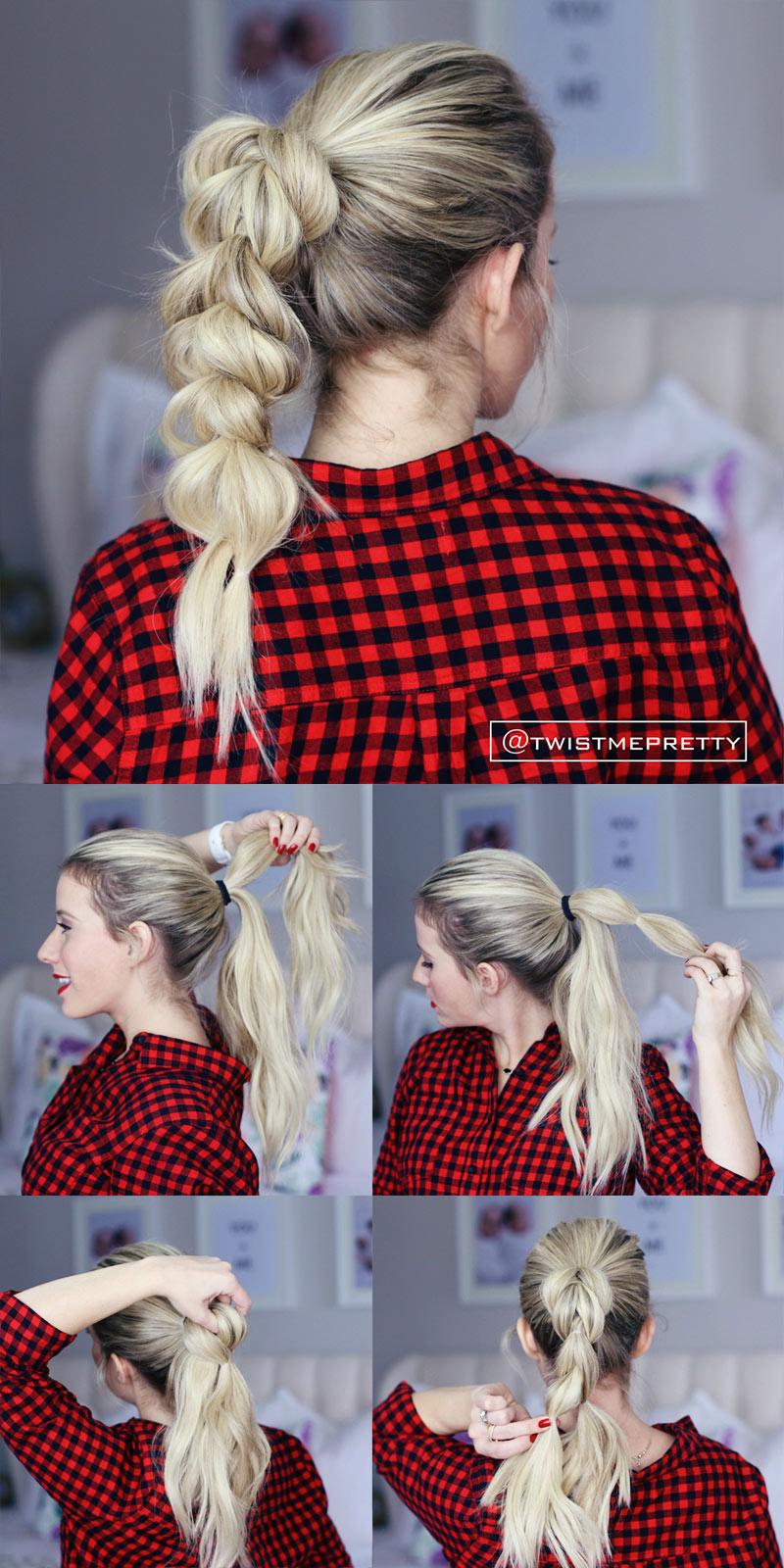 Коса-гирлянда