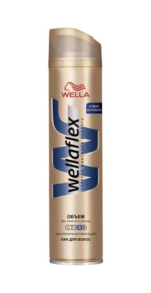 Лак для волос Wellaflex 3 «Объем»