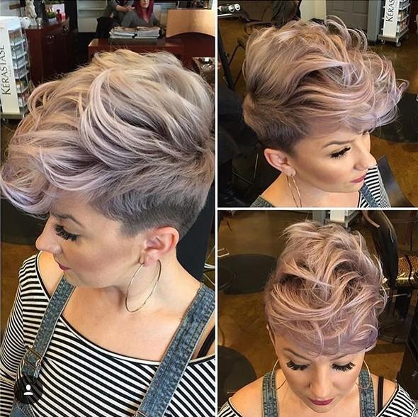 окрашивание коротких волос: фото 27