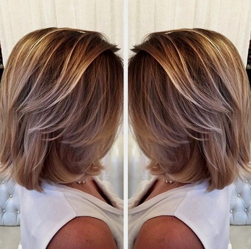 окрашивание коротких волос: фото 28