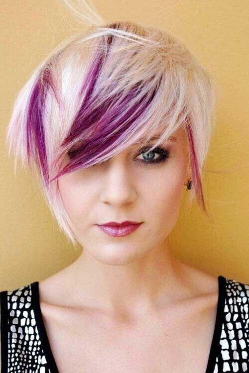 окрашивание коротких волос: фото 29
