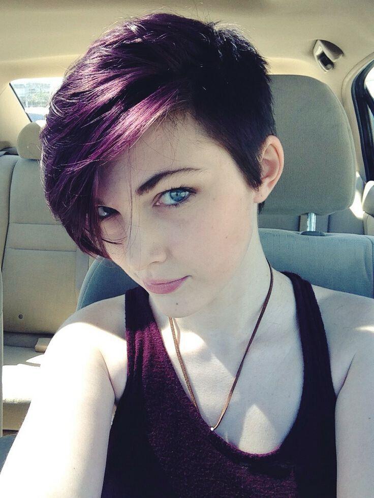 окрашивание коротких волос: фото 35