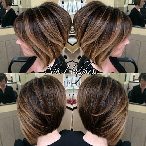 окрашивание коротких волос: фото 43