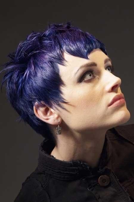окрашивание коротких волос: фото 46