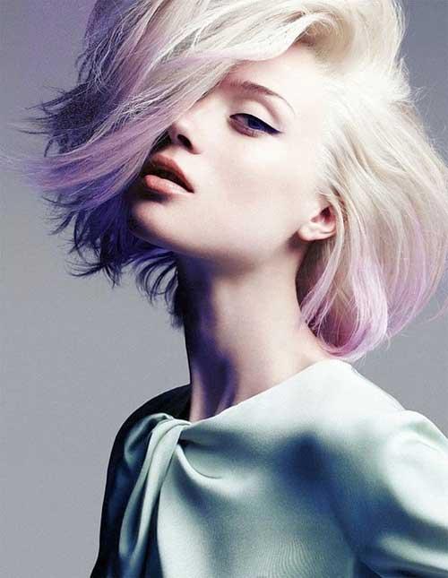 окрашивание коротких волос: фото 10