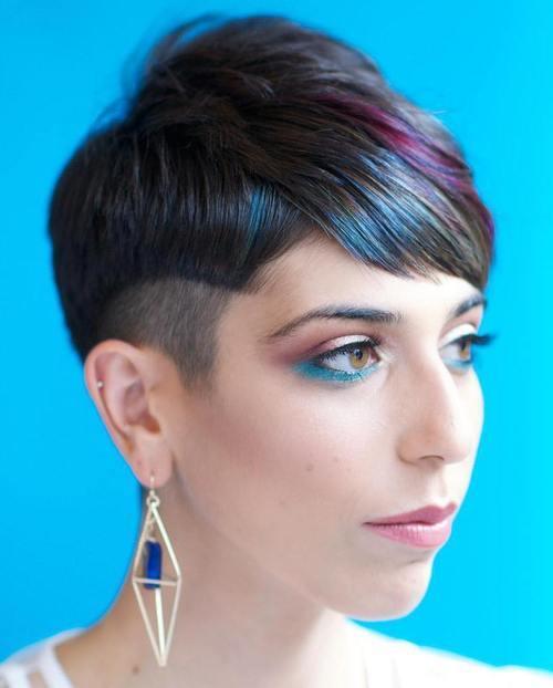окрашивание коротких волос: фото 14