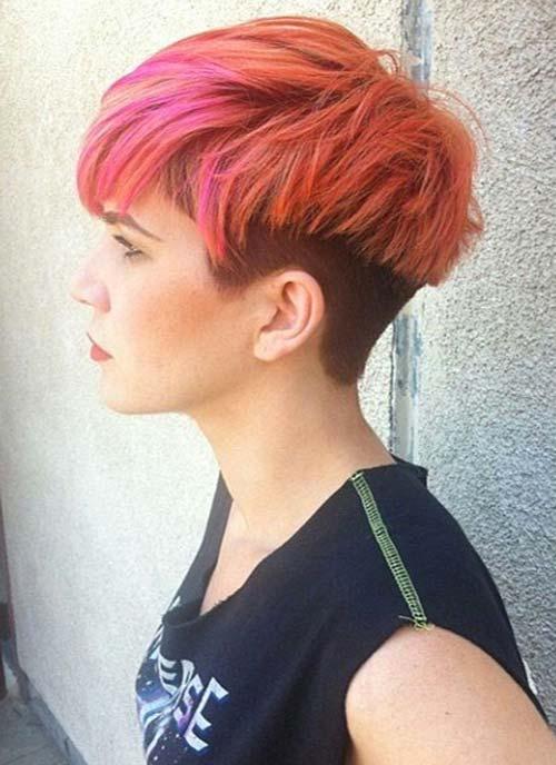 окрашивание коротких волос: фото 15