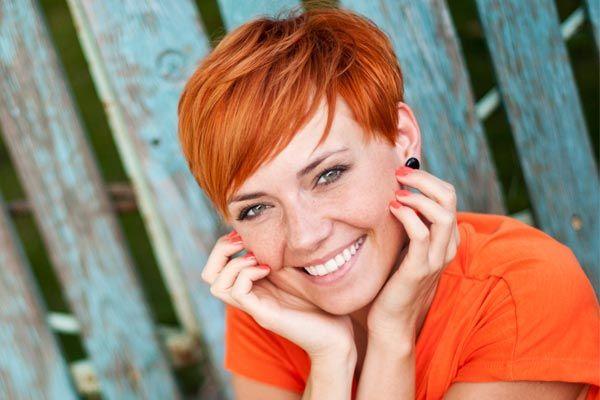окрашивание коротких волос: фото 30