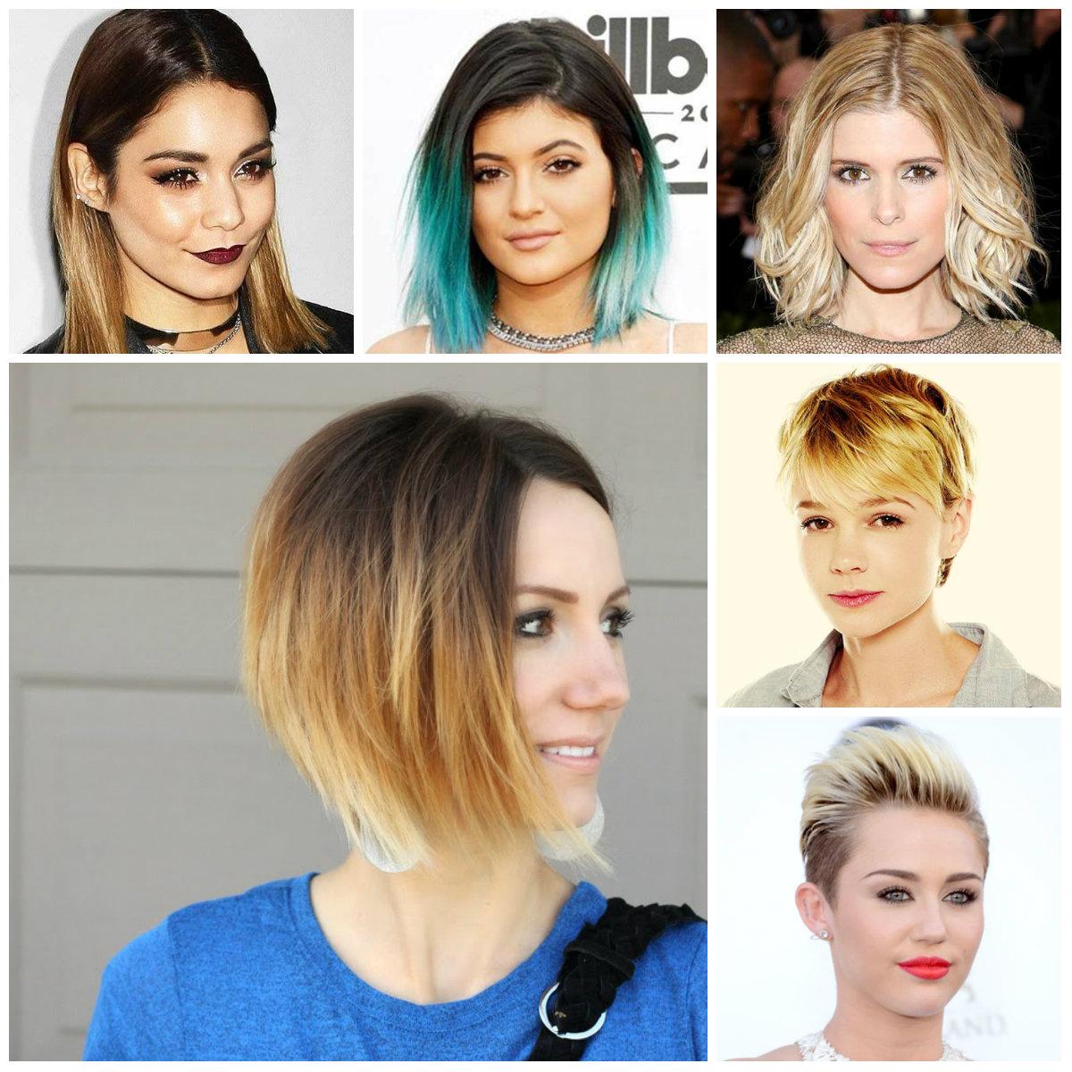 окрашивание коротких волос: фото 39