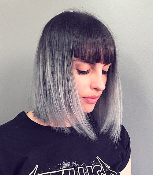 окрашивание коротких волос: фото 41