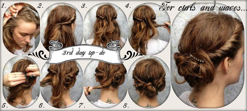 собранные волосы фото 5