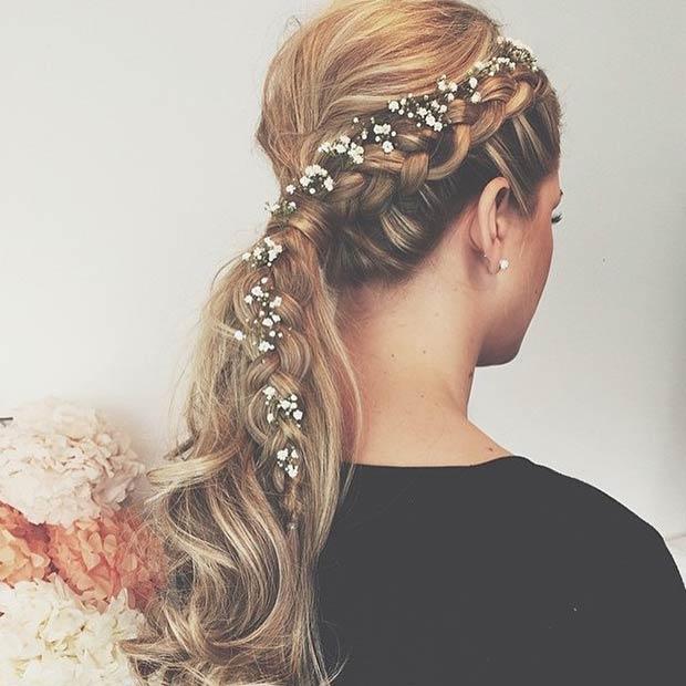 цветы в волосах фото 1