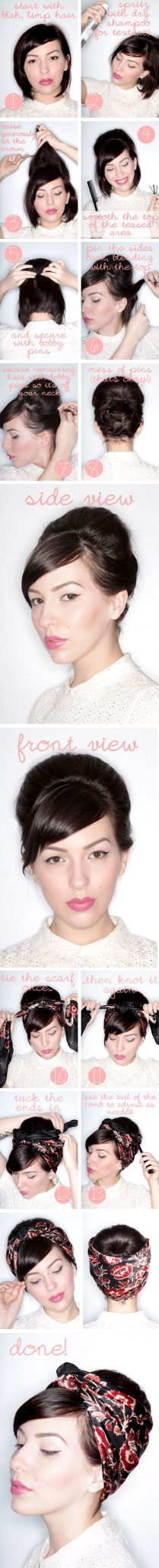 укладка на короткие волосы фото 11.2