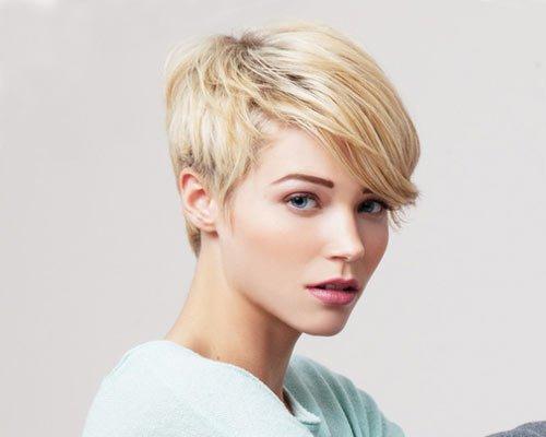 укладка на короткие волосы фото 13