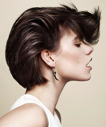 укладка на короткие волосы фото 34