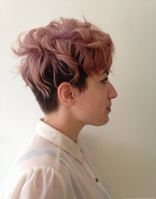 окрашивание коротких волос: фото 45